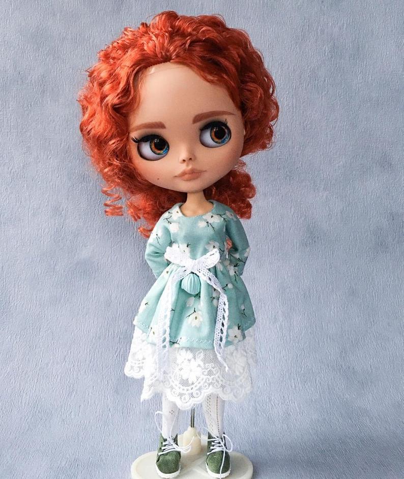 Arya - Custom Blythe Doll One-Of-A-Kind OOAK Sold-out Custom Blythes