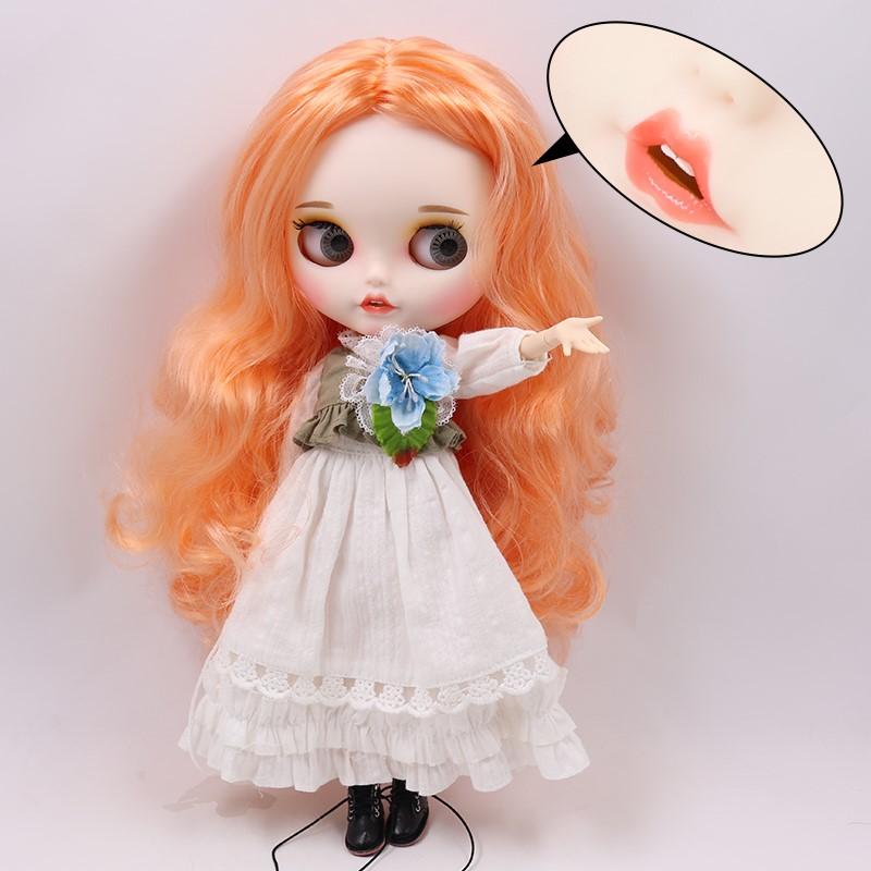Mckenzie – Premium Custom Blythe Doll with Clothes Smiling Face Premium Blythe Dolls 🆕 Smiling Face