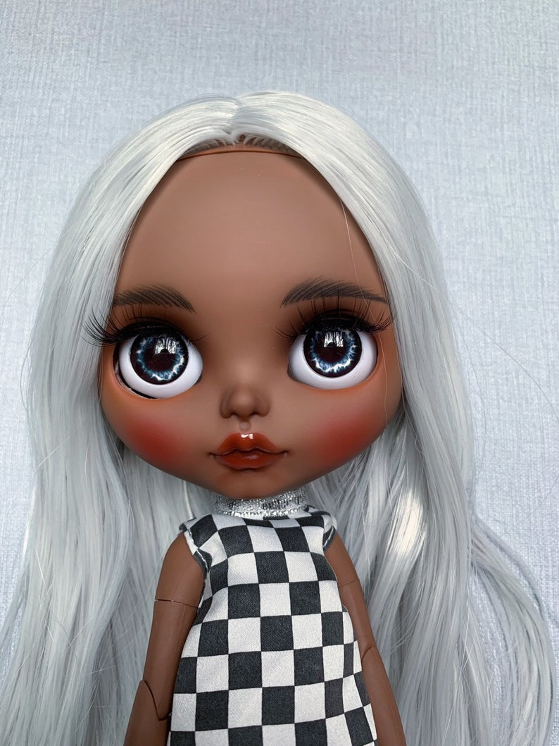 Natalia - Custom Blythe Doll One-Of-A-Kind OOAK Sold-out Custom Blythes