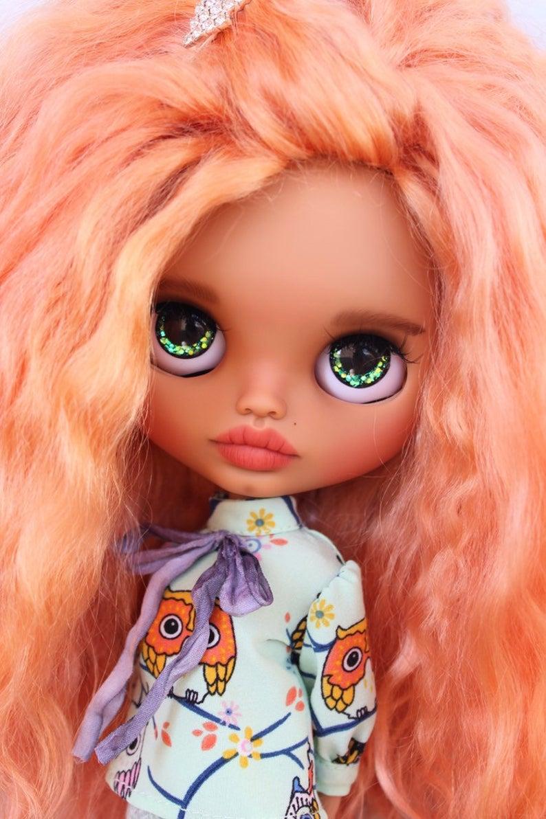 Elliana - Custom Blythe Doll One-Of-A-Kind OOAK Sold-out Custom Blythes