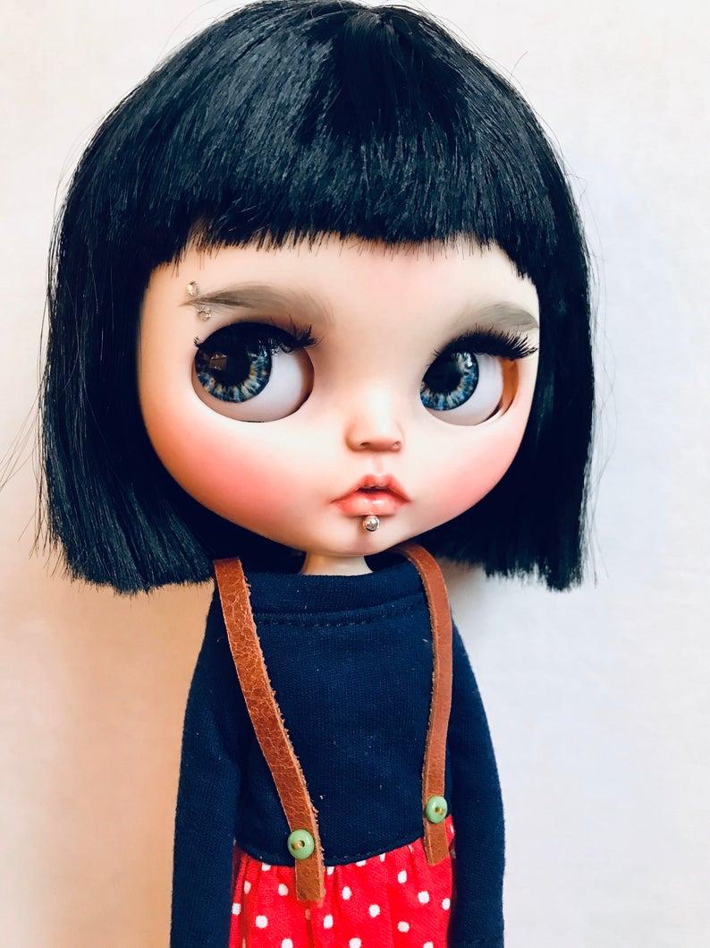 Sabrina - Custom Blythe Doll One-Of-A-Kind OOAK Custom Blythe Doll (OOAK)