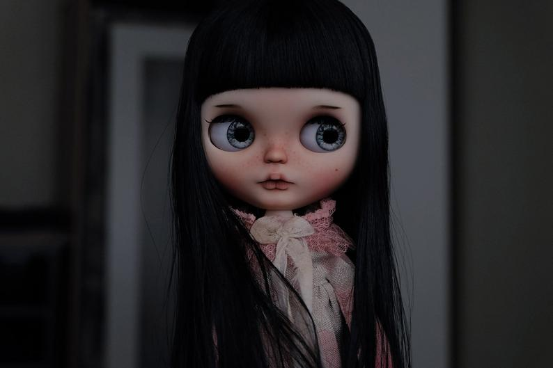 Audrey - Custom Blythe Doll One-Of-A-Kind OOAK Sold-out Custom Blythes