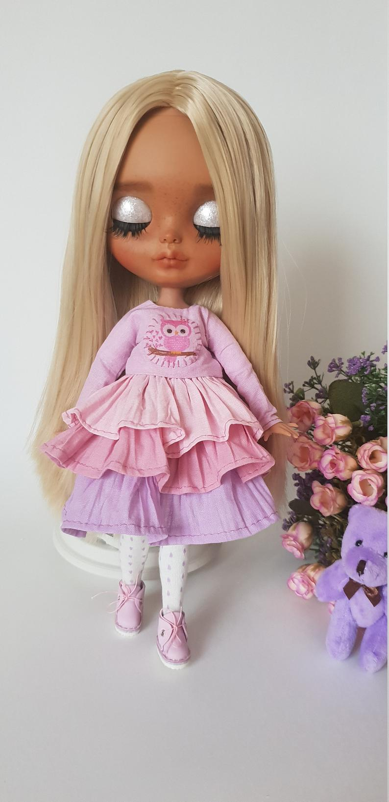 Everly - Custom Blythe Doll One-Of-A-Kind OOAK Sold-out Custom Blythes