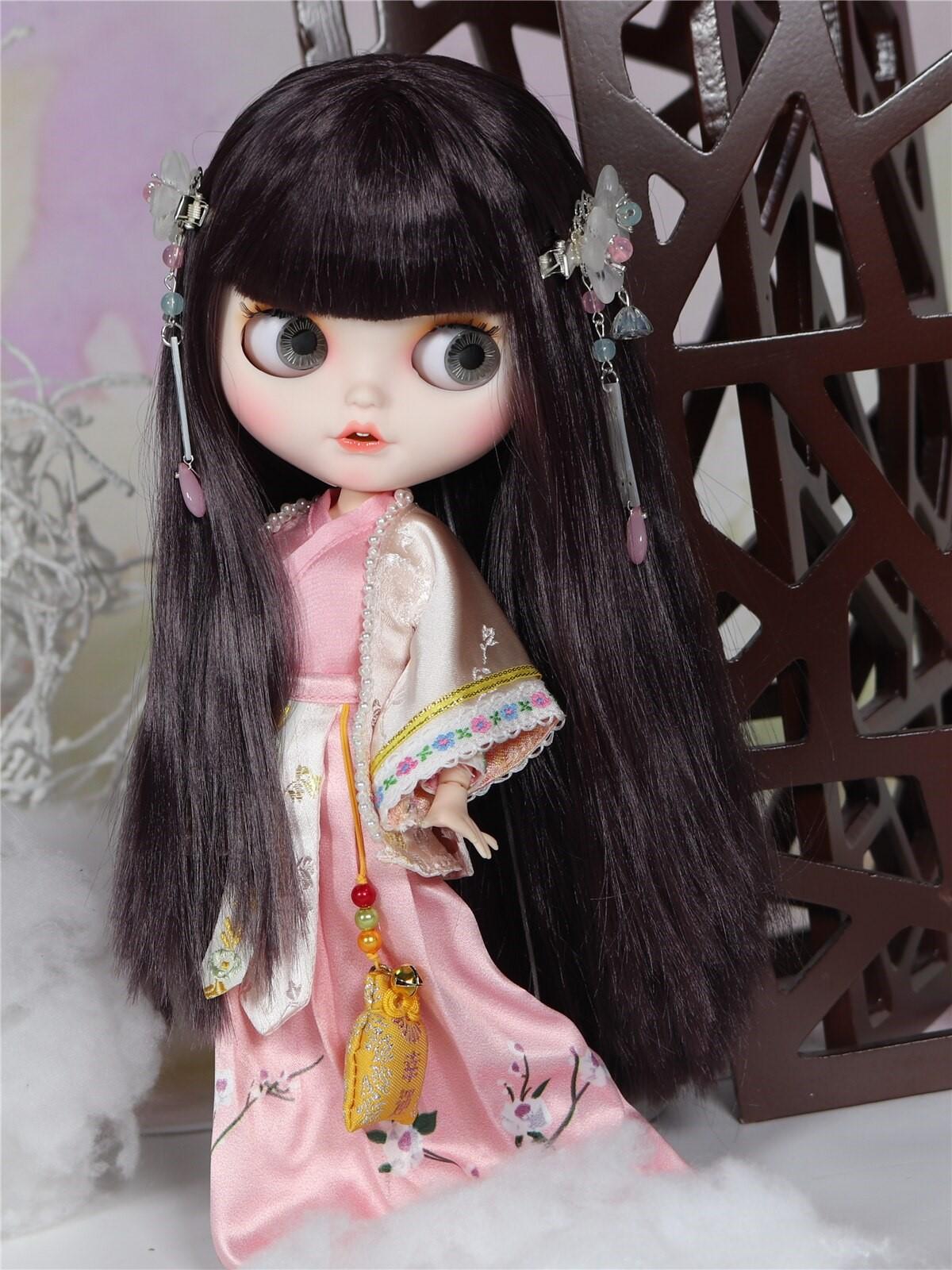 Miriam – Premium Custom Blythe Doll with Clothes Smiling Face Premium Blythe Dolls 🆕 Smiling Face