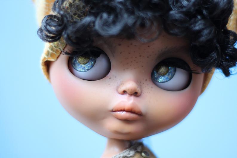 Trina Mae- Custom Blythe Doll One-Of-A-Kind OOAK Sold-out Custom Blythes