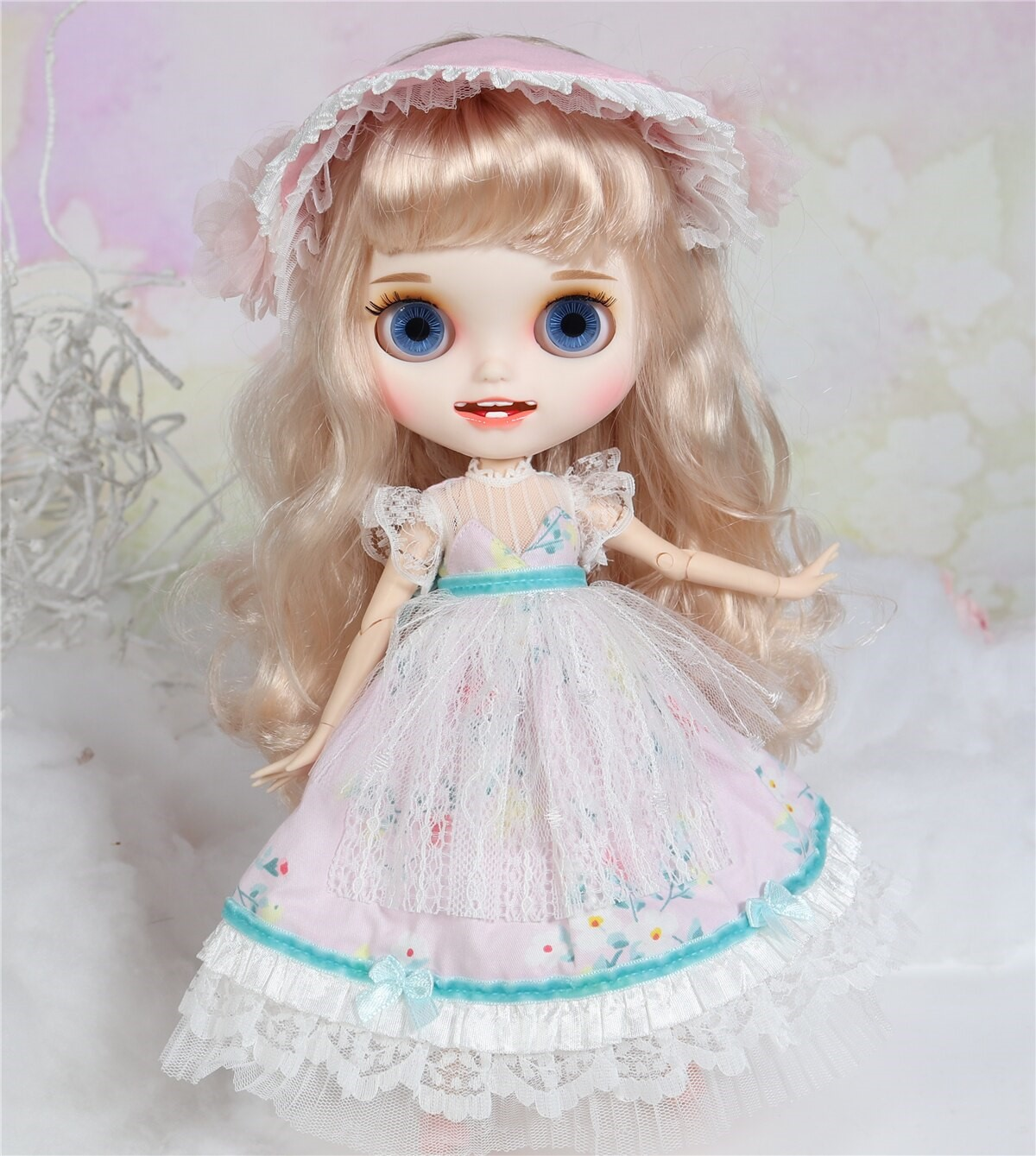 Millie – Premium Custom Blythe Doll with Clothes Smiling Face Premium Blythe Dolls 🆕 Smiling Face