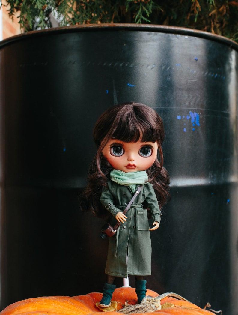 Sarah - Custom Blythe Doll One-Of-A-Kind OOAK Custom Blythe Doll (OOAK)