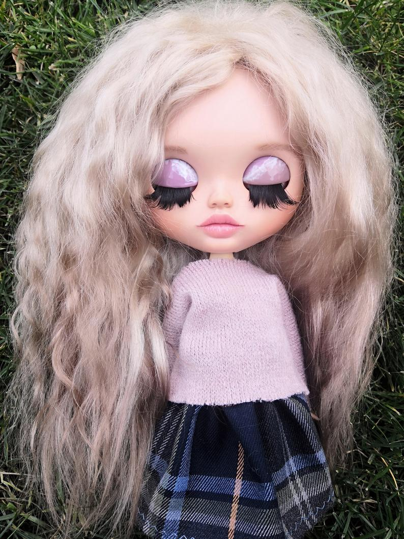 Angelina - Custom Blythe Doll One-Of-A-Kind OOAK Sold-out Custom Blythes
