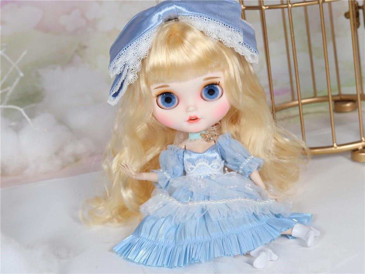 Camilla – Premium Custom Blythe Doll with Clothes Smiling Face Premium Blythe Dolls 🆕 Smiling Face