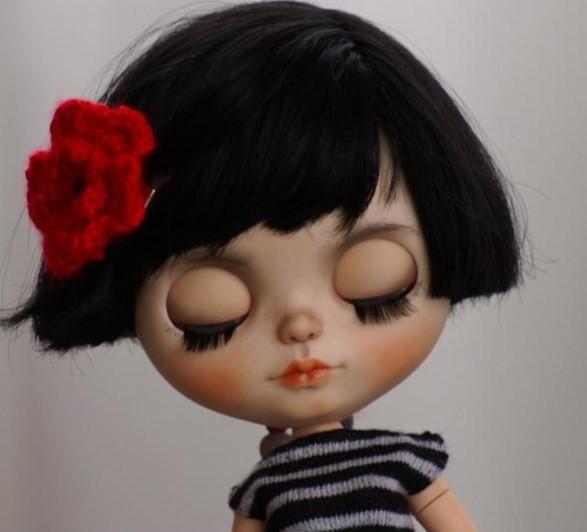 Alexandra - Custom Blythe Doll One-Of-A-Kind OOAK Sold-out Custom Blythes