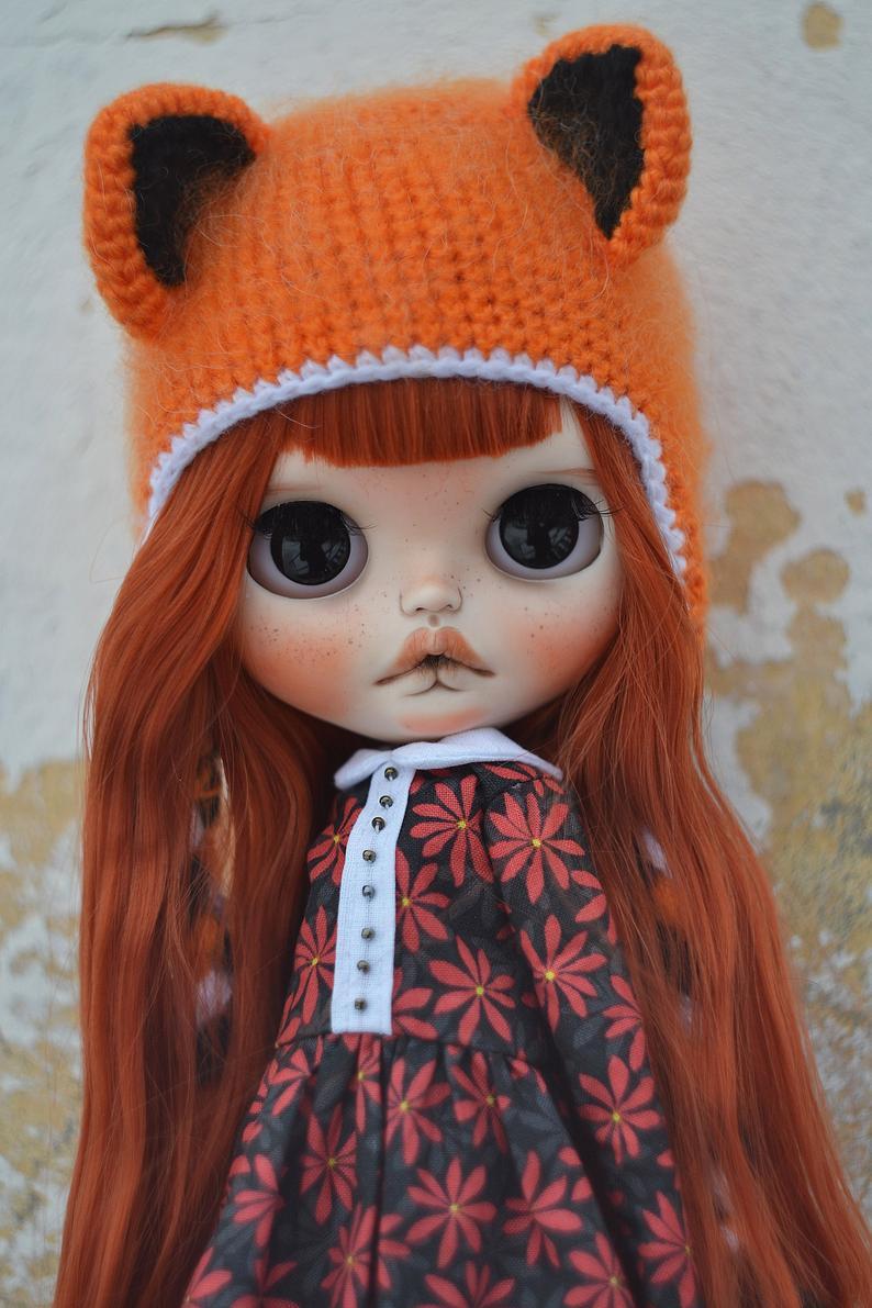 Malu - Custom Blythe Doll One-Of-A-Kind OOAK Sold-out Custom Blythes