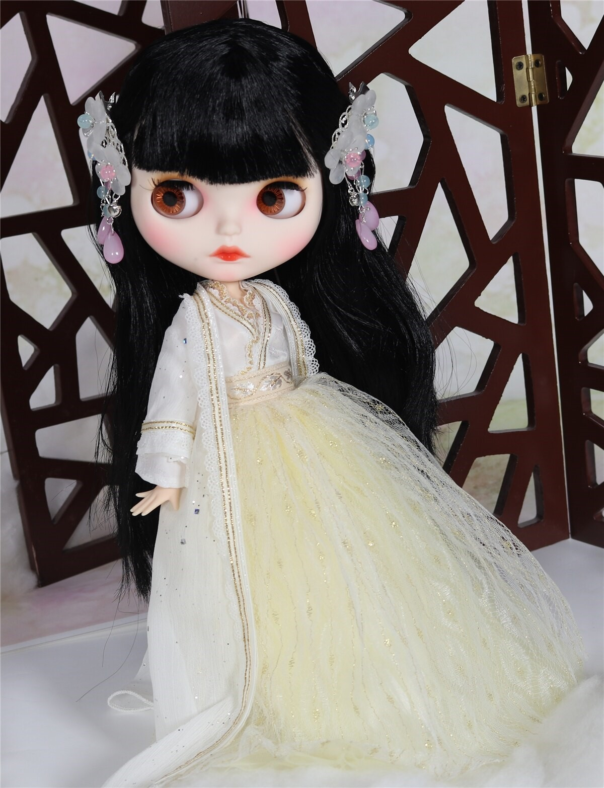 Sage – Premium Custom Blythe Doll with Clothes Smiling Face Premium Blythe Dolls 🆕 Smiling Face