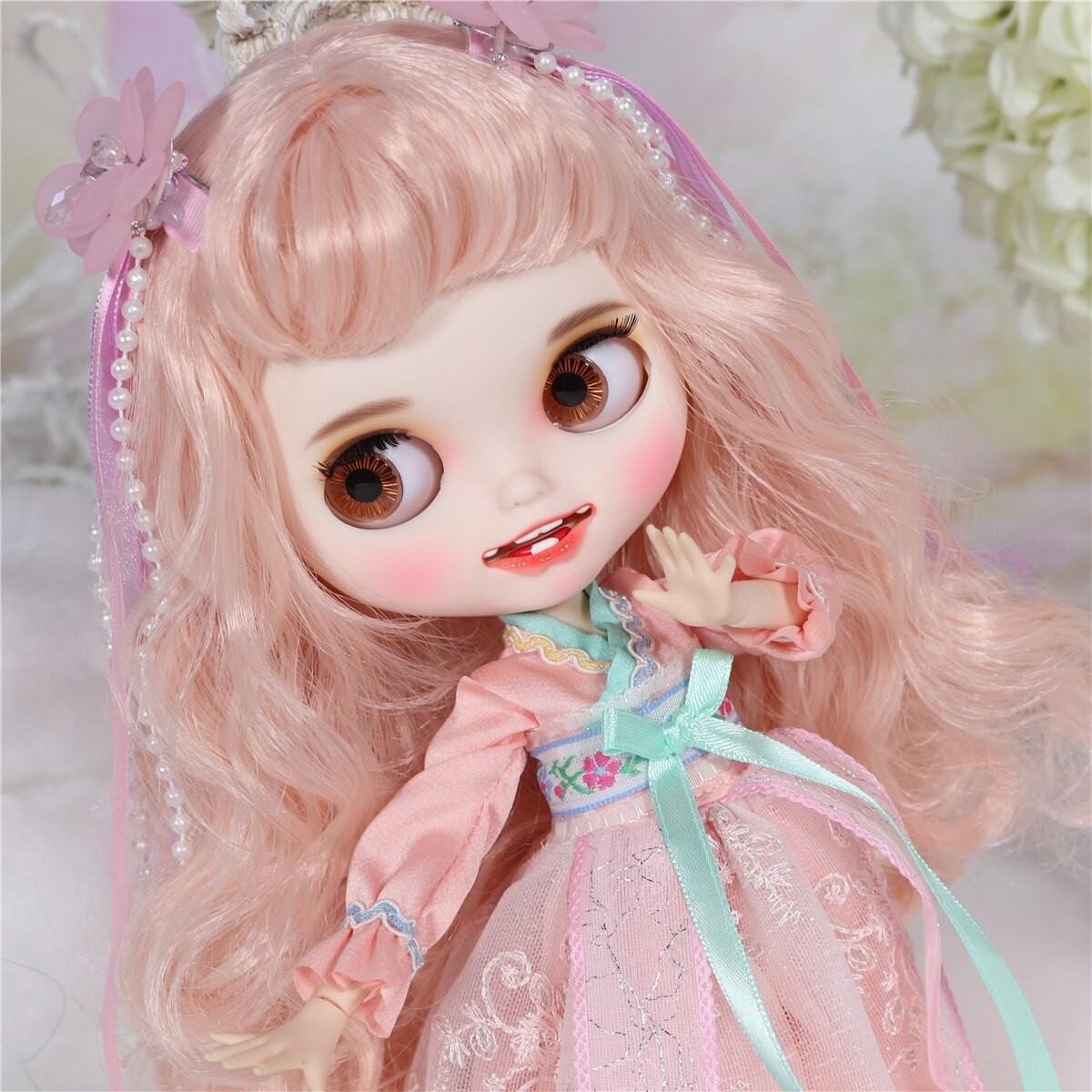 Lilliana – Premium Custom Blythe Doll with Clothes Smiling Face Premium Blythe Dolls 🆕 Smiling Face