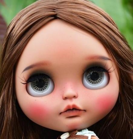 Elina - Custom Blythe Doll One-Of-A-Kind OOAK Sold-out Custom Blythes