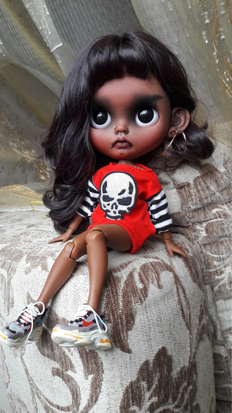 Miley - Custom Blythe Doll One-Of-A-Kind OOAK Sold-out Custom Blythes