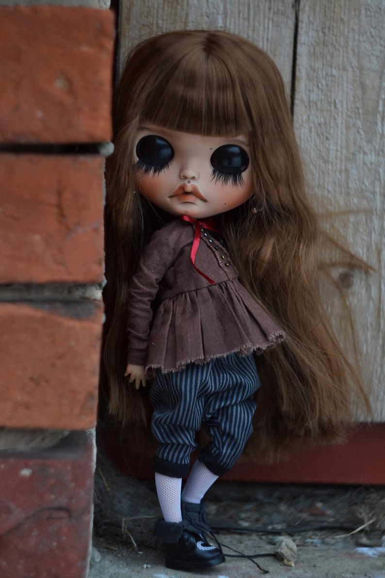 Leah - Custom Blythe Doll One-Of-A-Kind OOAK Sold-out Custom Blythes