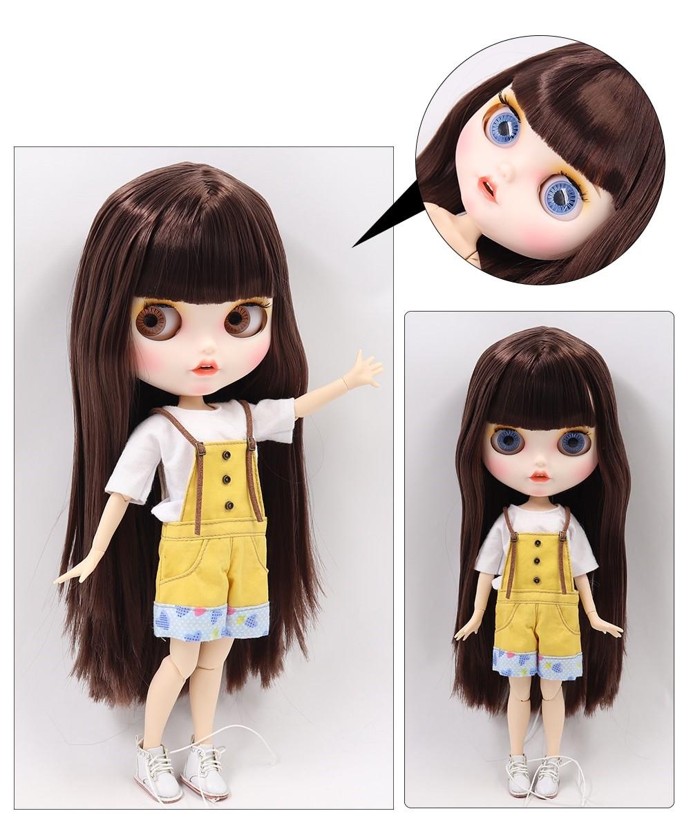 Presley – Premium Custom Blythe Doll with Clothes Smiling Face Premium Blythe Dolls 🆕 Smiling Face