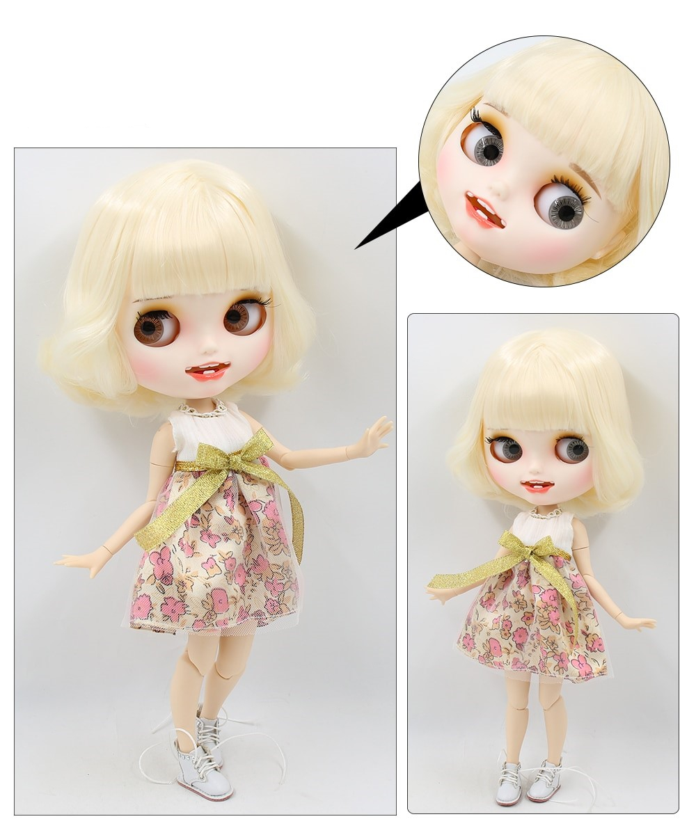 Brooke – Premium Custom Blythe Doll with Clothes Smiling Face Premium Blythe Dolls 🆕 Smiling Face