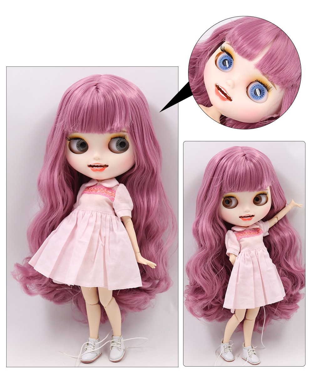 Adelyn – Premium Custom Blythe Doll with Smiling Face 1