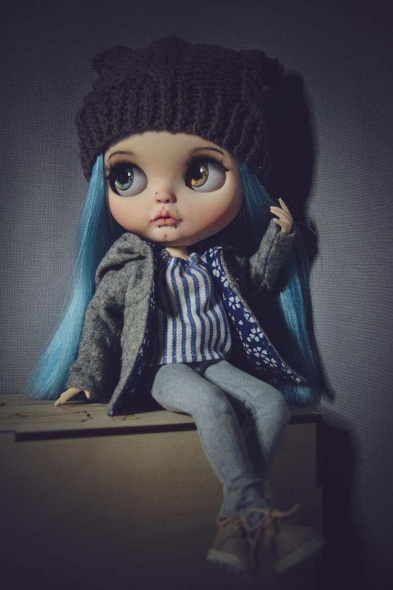 Nika - Custom Blythe Doll One-Of-A-Kind OOAK Sold-out Custom Blythes