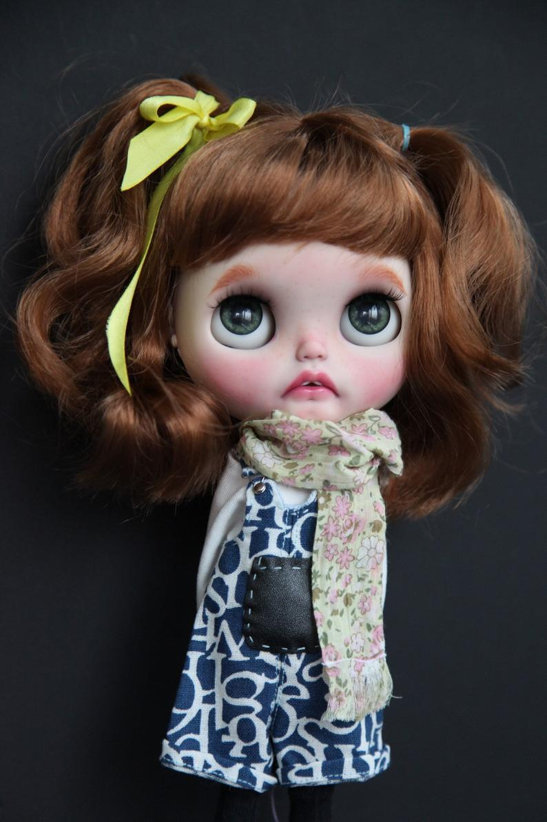 Lusi - Custom Blythe Doll One-Of-A-Kind OOAK Sold-out Custom Blythes