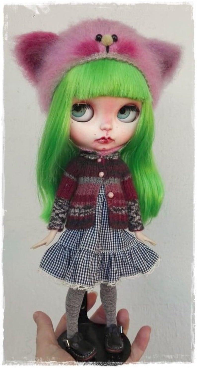 Trinity - Custom Blythe Doll One-Of-A-Kind OOAK Sold-out Custom Blythes