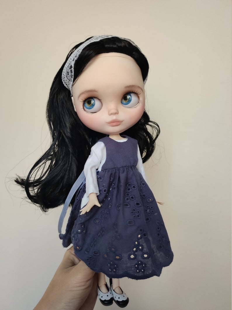 Selena - Custom Blythe Doll One-Of-A-Kind OOAK Custom Blythe Doll (OOAK)
