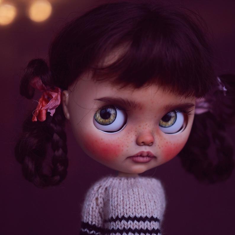 Oaklynn - Custom Blythe Doll One-Of-A-Kind OOAK Sold-out Custom Blythes