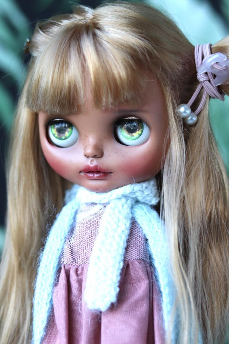 Adelina - Custom Blythe Doll One-Of-A-Kind OOAK Sold-out Custom Blythes