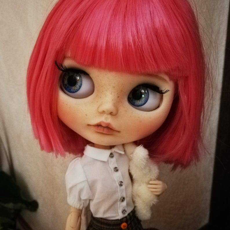 Tessa - Custom Blythe Doll One-Of-A-Kind OOAK Sold-out Custom Blythes