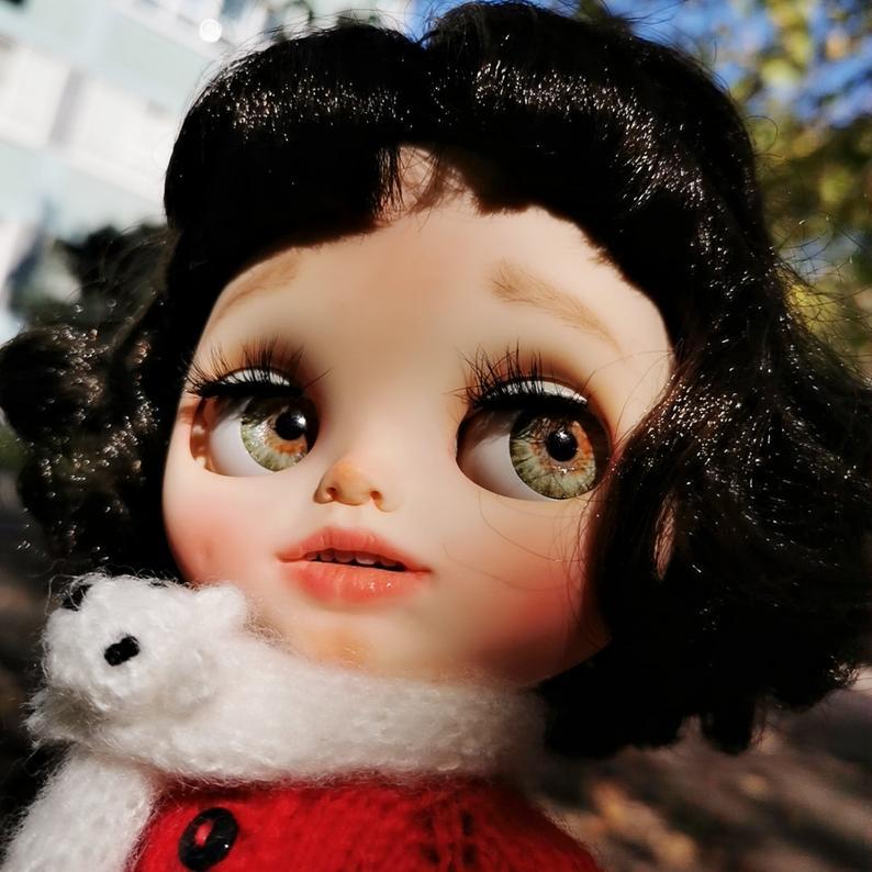 Reign - Custom Blythe Doll One-Of-A-Kind OOAK Custom Blythe Doll (OOAK)