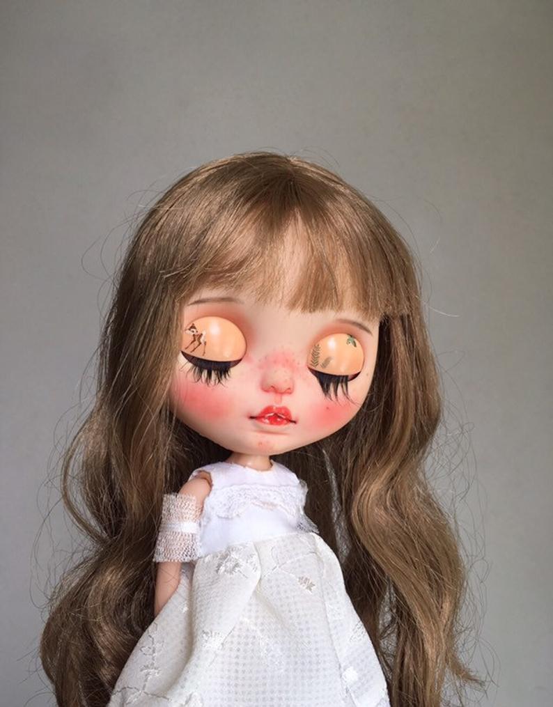 Kehlani - Custom Blythe Doll One-Of-A-Kind OOAK Sold-out Custom Blythes