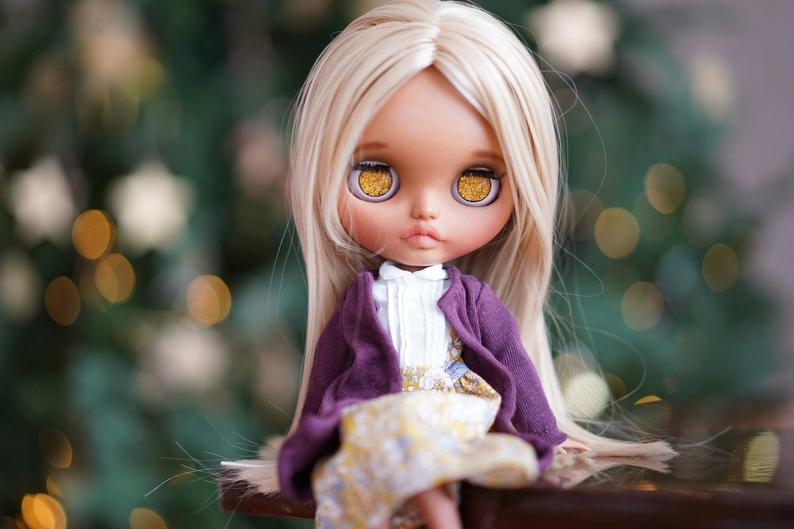 Mary - Custom Blythe Doll One-Of-A-Kind OOAK Sold-out Custom Blythes