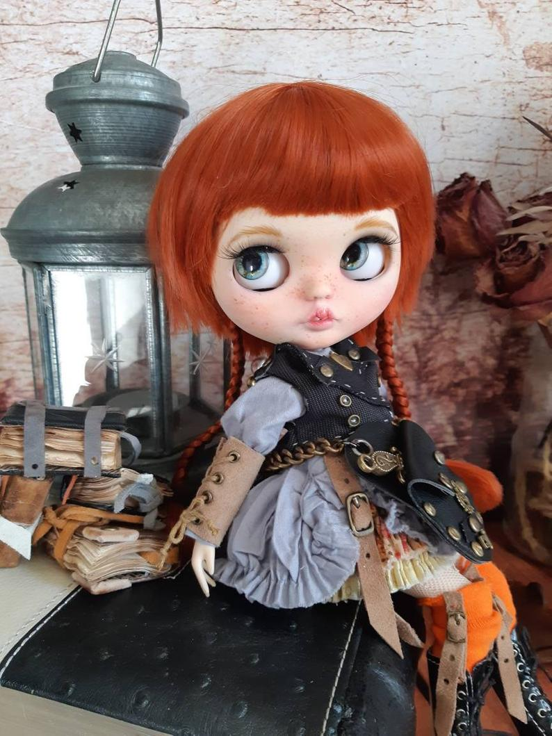 Kendra – Custom Blythe Doll One-Of-A-Kind OOAK Sold-out Custom Blythes