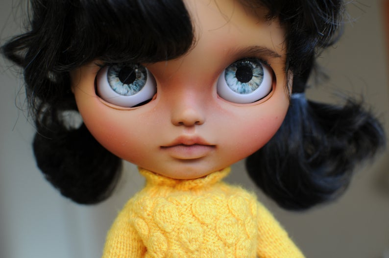 Raquel - Custom Blythe Doll One-Of-A-Kind OOAK Sold-out Custom Blythes