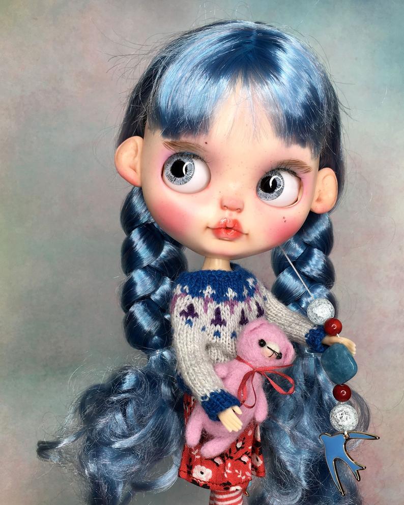 Briana - Custom Blythe Doll One-Of-A-Kind OOAK Sold-out Custom Blythes