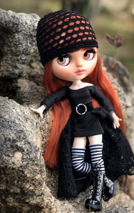 Melissa - Custom Blythe Doll One-Of-A-Kind OOAK Sold-out Custom Blythes