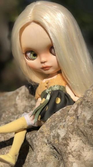 Sofia - Custom Blythe Doll One-Of-A-Kind OOAK Custom Blythe Doll (OOAK)