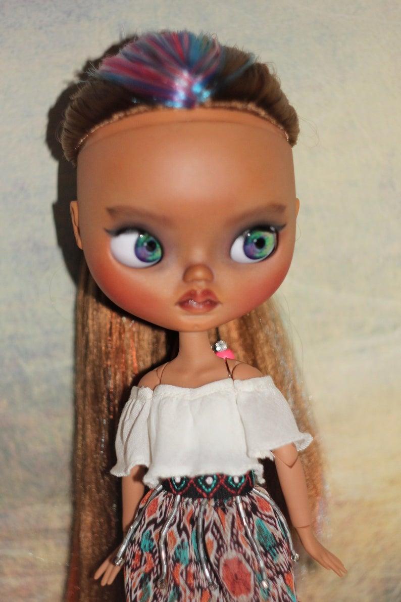 Maia - Custom Blythe Doll One-Of-A-Kind OOAK Sold-out Custom Blythes