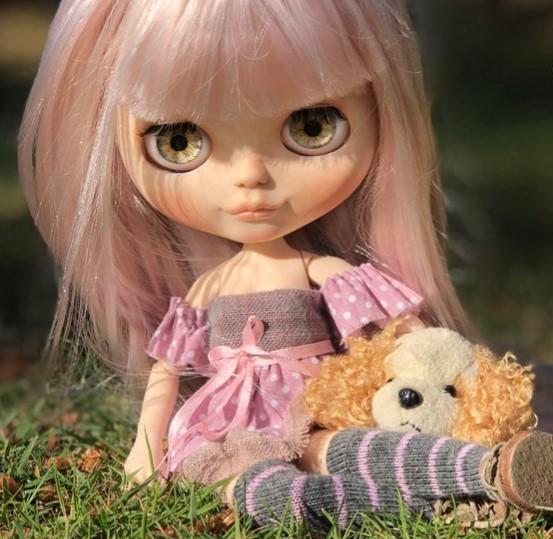 Violetta - Custom Blythe Doll One-Of-A-Kind OOAK Custom Blythe Doll (OOAK)