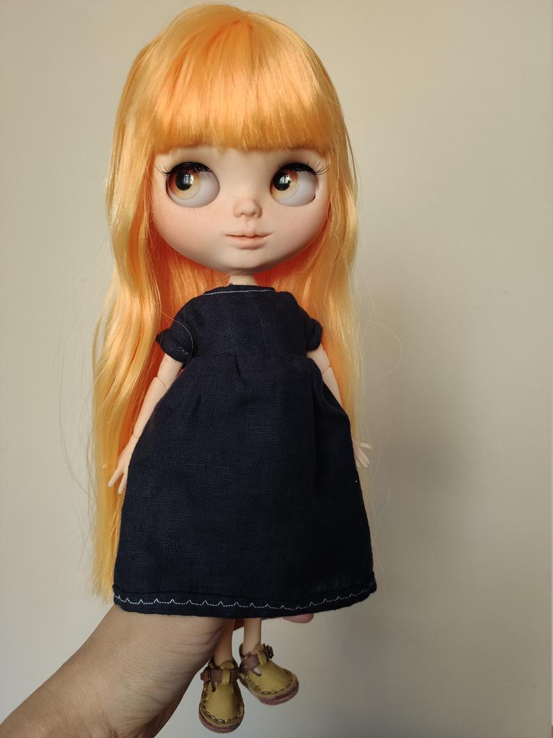 Melon - Custom Blythe Doll One-Of-A-Kind OOAK Custom Blythe Doll (OOAK)