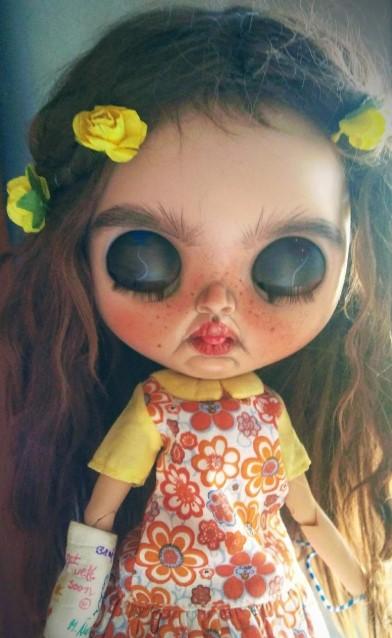 Virginia - Custom Blythe Doll One-Of-A-Kind OOAK Custom Blythe Doll (OOAK)