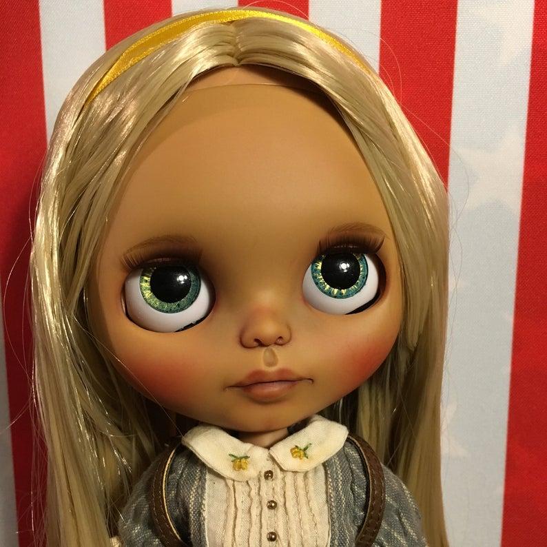 Romina - Custom Blythe Doll One-Of-A-Kind OOAK Sold-out Custom Blythes
