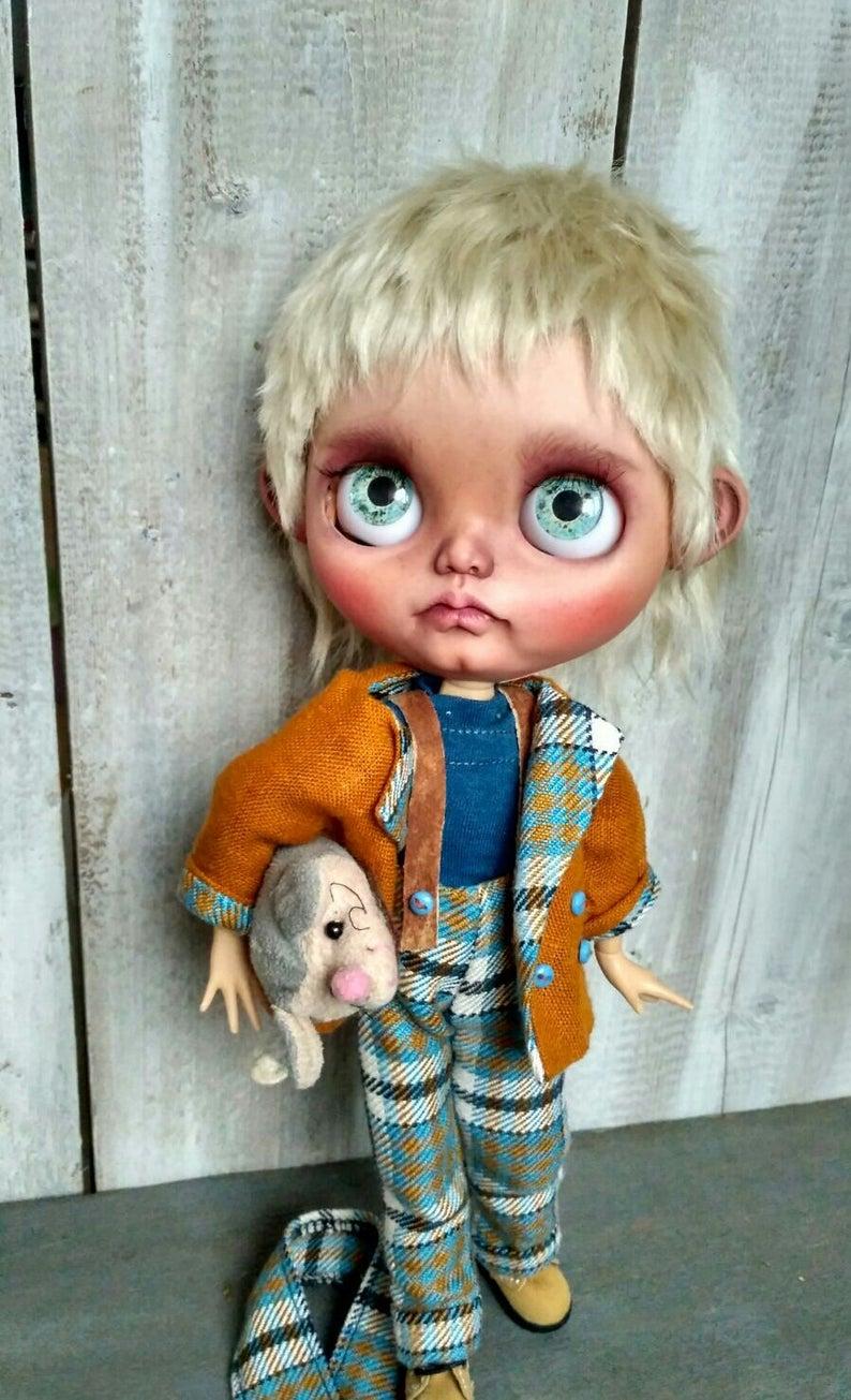 Stefanek - Custom Blythe Doll One-Of-A-Kind OOAK Sold-out Custom Blythes