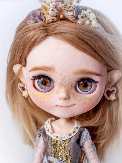 Lacy - Custom Blythe Doll One-Of-A-Kind OOAK Sold-out Custom Blythes