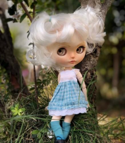 Aurora - Custom Blythe Doll One-Of-A-Kind OOAK Sold-out Custom Blythes