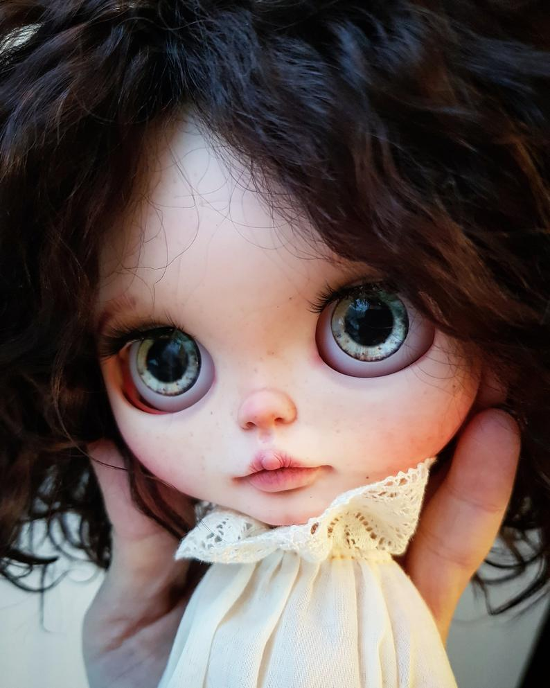 Nataly - Custom Blythe Doll One-Of-A-Kind OOAK Sold-out Custom Blythes