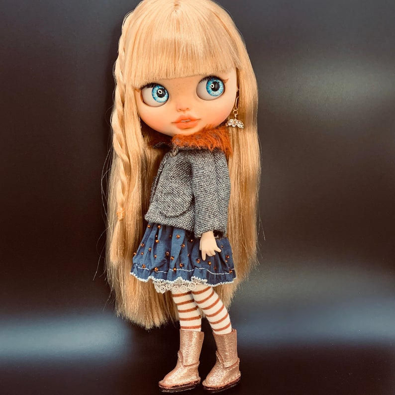 Rachel - Custom Blythe Doll One-Of-A-Kind OOAK Sold-out Custom Blythes