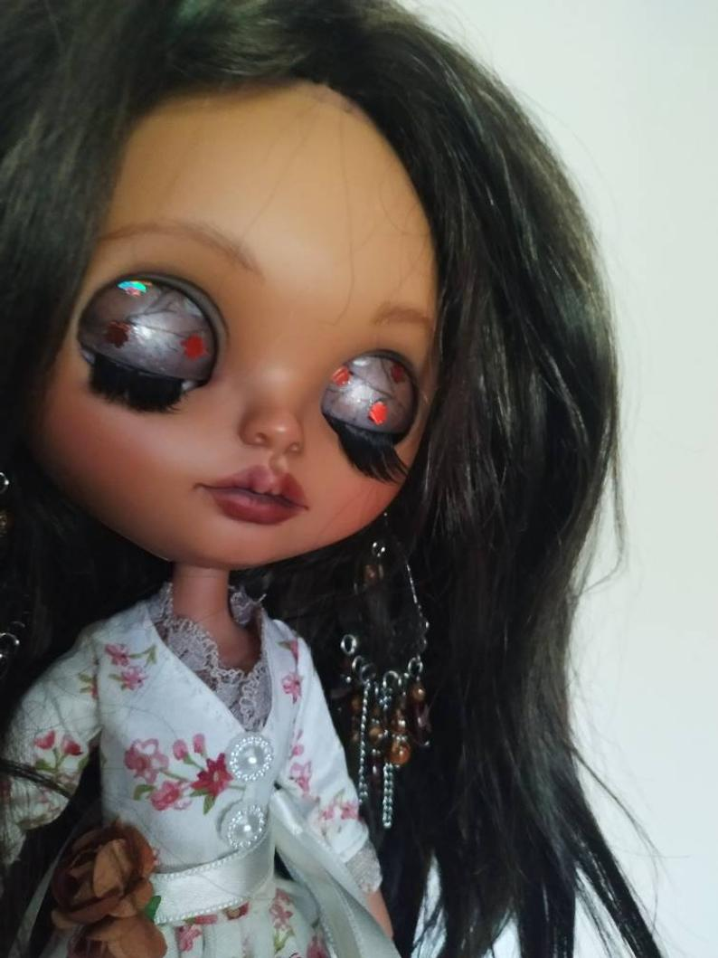 Veronica - Custom Blythe Doll One-Of-A-Kind OOAK Sold-out Custom Blythes