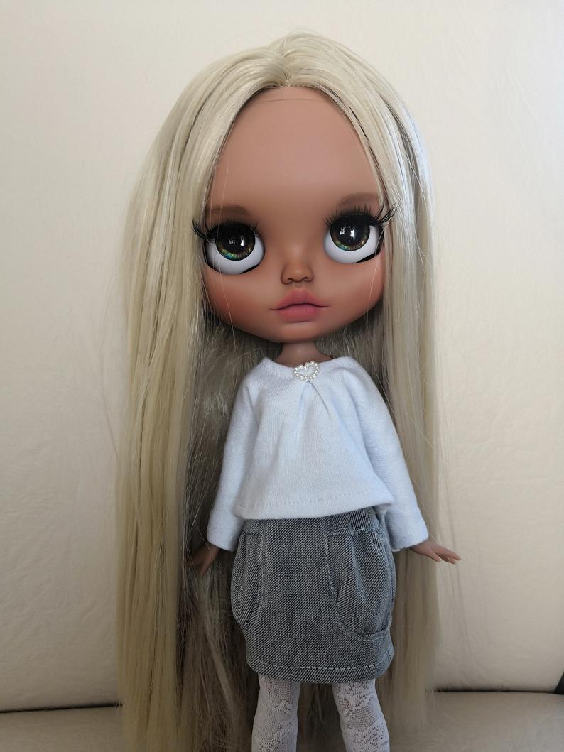 Adelyn - Custom Blythe Doll One-Of-A-Kind OOAK Sold-out Custom Blythes